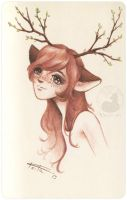 Neko fawn by Keila-the-fawncat