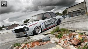 Opel Ascona Drift-version by Yzn90