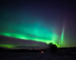 Christmas Auroras by Nitrok