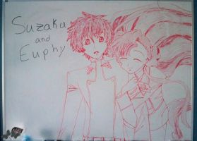 Suzaku and Euphy by SuzakuLover8