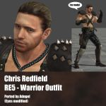 Chris Redfield RE5 Warrior Outfit by Adngel