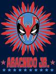 Aracnido Jr. T-shirt by Vic-Neko
