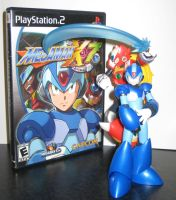 -X Cover Shoot- MegaMan X7 (updated) by Nin10doNerd