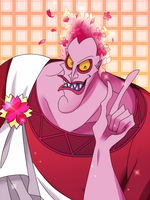 Hades of the cherry blossoms. by r0cco-lotteria