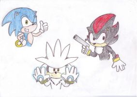 3 hedgehogs by LeniProduction