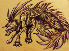 wolf of the wind by geck0gir1