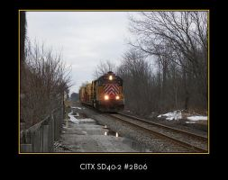 CITX SD40-2 2806 from Mahoning by LDLAWRENCE
