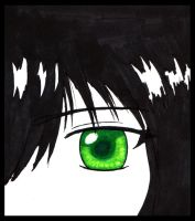 Green Eyed Gaze by silversword