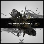 C4D render pack no. 4 by alphamin