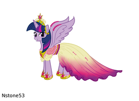 Twilight Sparkle Gala Dress by Nstone53