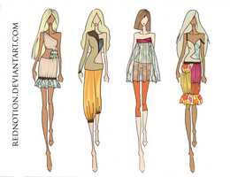 Spring Summer 2010 RTW MC by rednotion