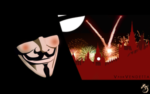 V For Vendetta Vectors by Kazyole