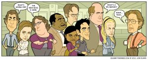 Celebrity Skinned : The Office by jonplante
