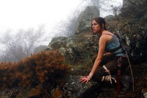 Tomb Raider Lara Croft Reborn: coastal forest by TanyaCroft