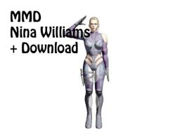 MMD: (Tekken) Nina Williams + Download by VocaloidWings