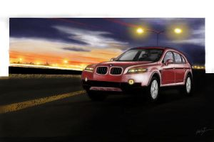 concept of bmw x1+ by akkigreat