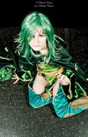 Rydia: Up by ShaeUnderscore
