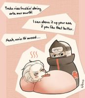 Hidan has a temperature by junochan