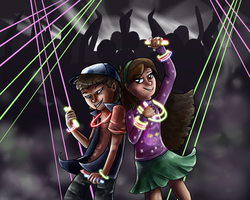 The MysteRAVE Twins by Wind-Kitty