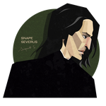 Snape Severus - Polygon style by AnapaestSword
