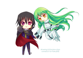 -- Chibi Code Geass comission -- by Kurama-chan