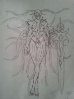Chaos Warlord : Lyn Blackheart Bankai by Jade-Queen-Of-Souls