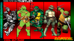 TMNT Generations Wallpaper - Raphael by 2ndCityCrusader