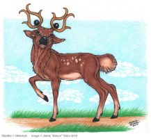 Stantler Interpretation by Emryswolf