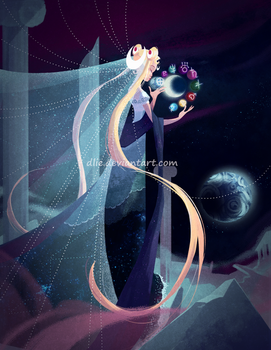 Princess Serenity by Dlie