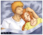 Sleeping Ichihime by KS-99