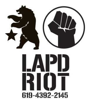 Fallout NCR Ranger Stencils LAPD RIOT by Rose-Cosplay