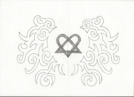 Heart Tattoo Design by FuCkEd-Up-AnGeL