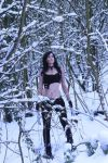 X-23 WIP snow shoot 1 by LisaMarieCosplay