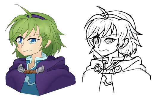[FE:H] Nino is Disappoint (Digi and Trad) by Nintendraw