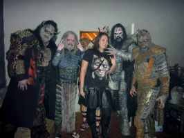 with Lordi 2013 in With my RockStars