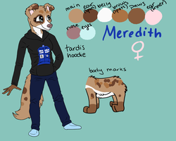 :AT: Meredith Ref by CursedFire