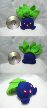 Custom Plushie - Oddish by Sexual-Pancake