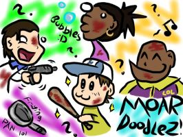 Left 4 Dead 2 DOOOODLES by SpizFeral