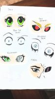 Creepypasta EYES by ImMoonwalker