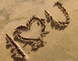 Love is written in the Sand by LizzDurr121
