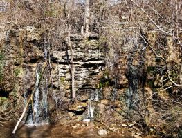 Ozarks Bluff II by Baq-Stock