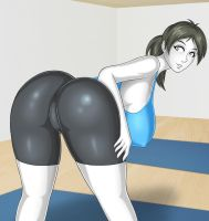 Wii Fit Trainer 2 by cybergaze