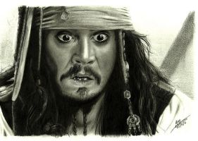 Jack Sparrow by FaceItDrawing