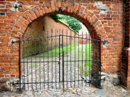 Gate by Comacold-stock