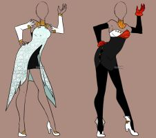 Fashion Adoptable Auction 34 - CLOSED by Karijn-s-Basement