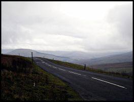 Remote Road by pipesmokingpoet