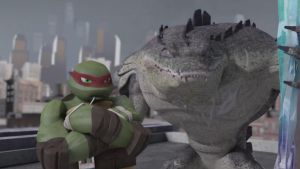 Raphael and Leatherhead by Jd1680a