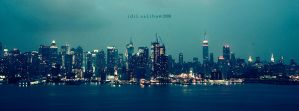 new york a rainy day by idilsalihakuntuz