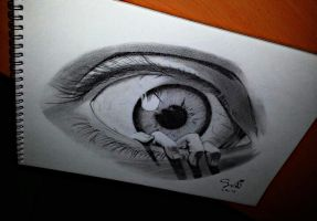 REALISTIC EYE by SudiLin