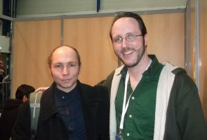Me and the Nostalgia Critic^^ by hombre-nuevo